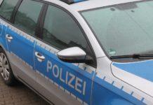 Polizeiauto Regen