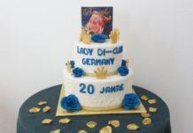 Jubiläumstorte - Lady Di Club Germany