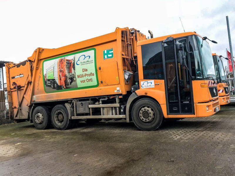 KAW - Müllwagen - Müllabfuhr