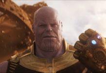 Thanos mit Handschuh