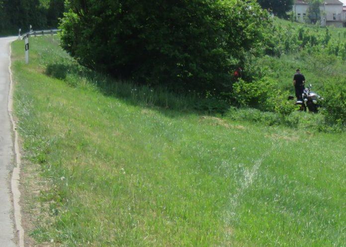 Motorrad - Unfall Bad Pyrmont