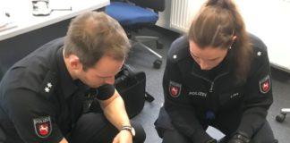 Waschbär - Polizei Holzminden