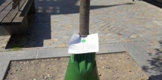 Wassersack - Säcke in der Osterstraße