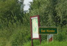 Bad Münder Schild