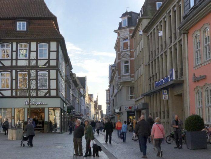 Fußgängerzone - Bäckerstraße