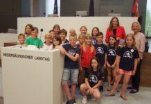 Landtag Besuch Grundschule
