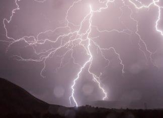 Blitz Gewitter Unwetter