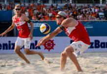 Beachvolleyball Harms Bergmann