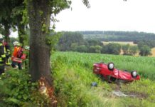 Auto in Maisfeld - Unfall L423