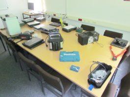 sichergestellte Gegenstände - Einbruchserie in Hehlen