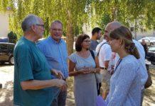 Dirk Adomat besucht Förderprojekt am Kuckuck