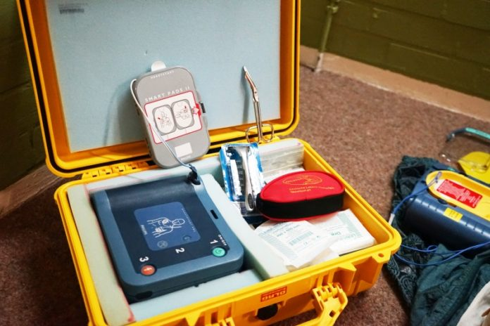 AED Gerät Defibrillator