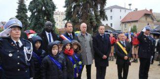 Gedenkfeier Saint-Maur mit OB Griese