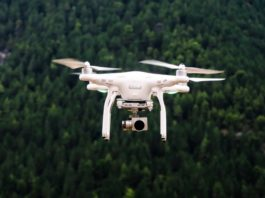 Drohne Erkunden