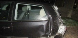 beschädigter VW Polo