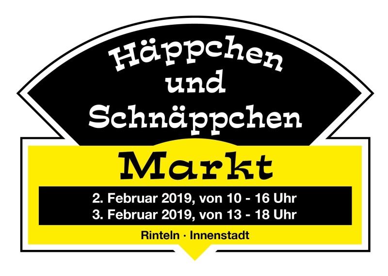 Häppchen und Schnäppchen_Plakat Winter_Rinteln