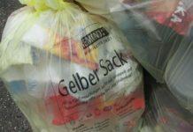 Gelber Sack Müll KAW Remondis