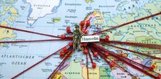 Pied Piper International_Weltkarte_©Museum Hameln