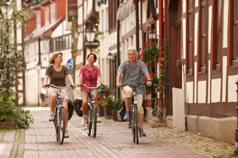 Fahrrad Tourismus Weserbergland Hameln