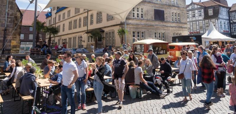 Street Food Market Hameln