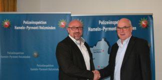 Wechsel_Polizeiinspektion_Hameln-Pyrmont_Holzminden_Heiko Heimann_Axel Brünger