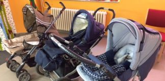 DRK Projekt Babytasche_Kinderwagen