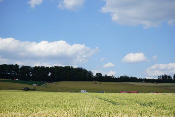 Aerzen Hubschrauber Absturz Dehmke