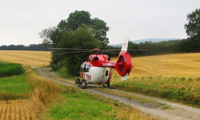 Polizei Hubschrauber Rettung
