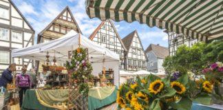Stadt Rinteln Bauernmarkt Öko