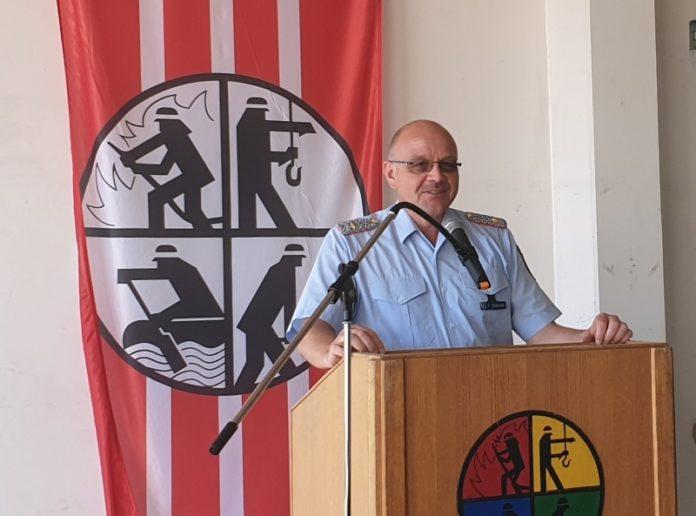 Kreisbrandmeister Frank Wöbbecke