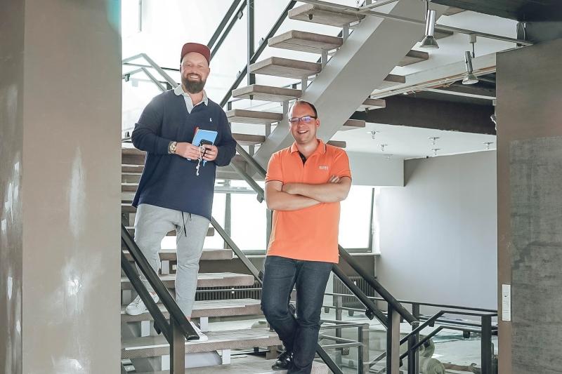 Orangery Gründer Coworking