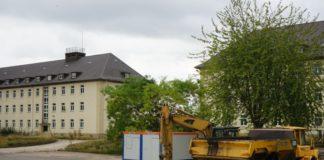Linsingen-Kaserne Hameln Abriss