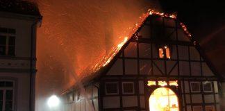 Brand Lügde 13.11.19