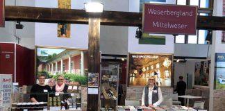 Auf der Grünen Woche: Der Standt der Region Weserbergland-Mittelweser