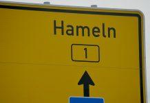 hameln-bundesstrasse-b1-schild